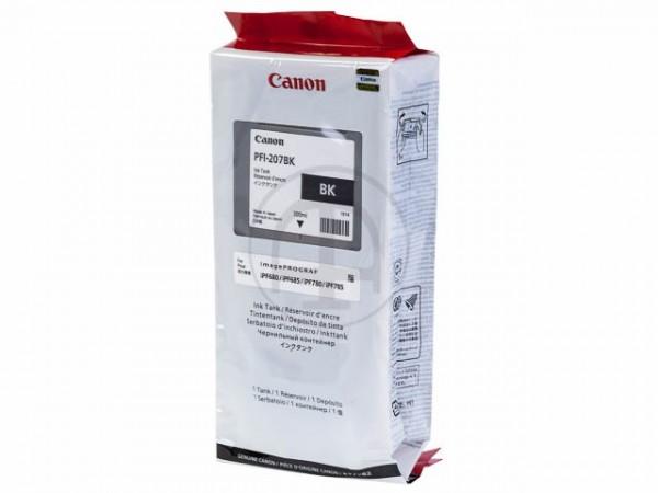 Canon PFI-207BK - Schwarz - Tintenbehälter