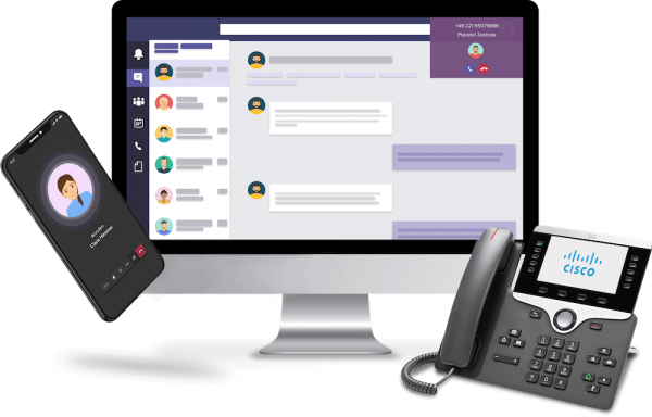 Placetel Integration für Microsoft Teams