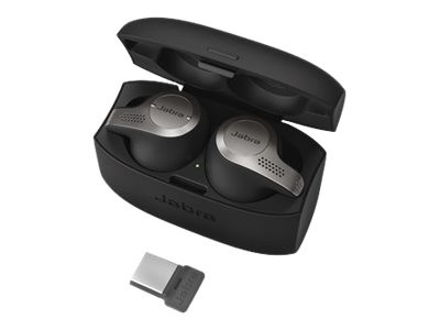 Jabra - Evolve 65t MS - True Wireless-Kopfhörer mit Mikrofon